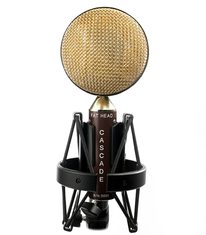 Cascade Microphones FAT HEAD - Brown/Gold by Cascade Microphones