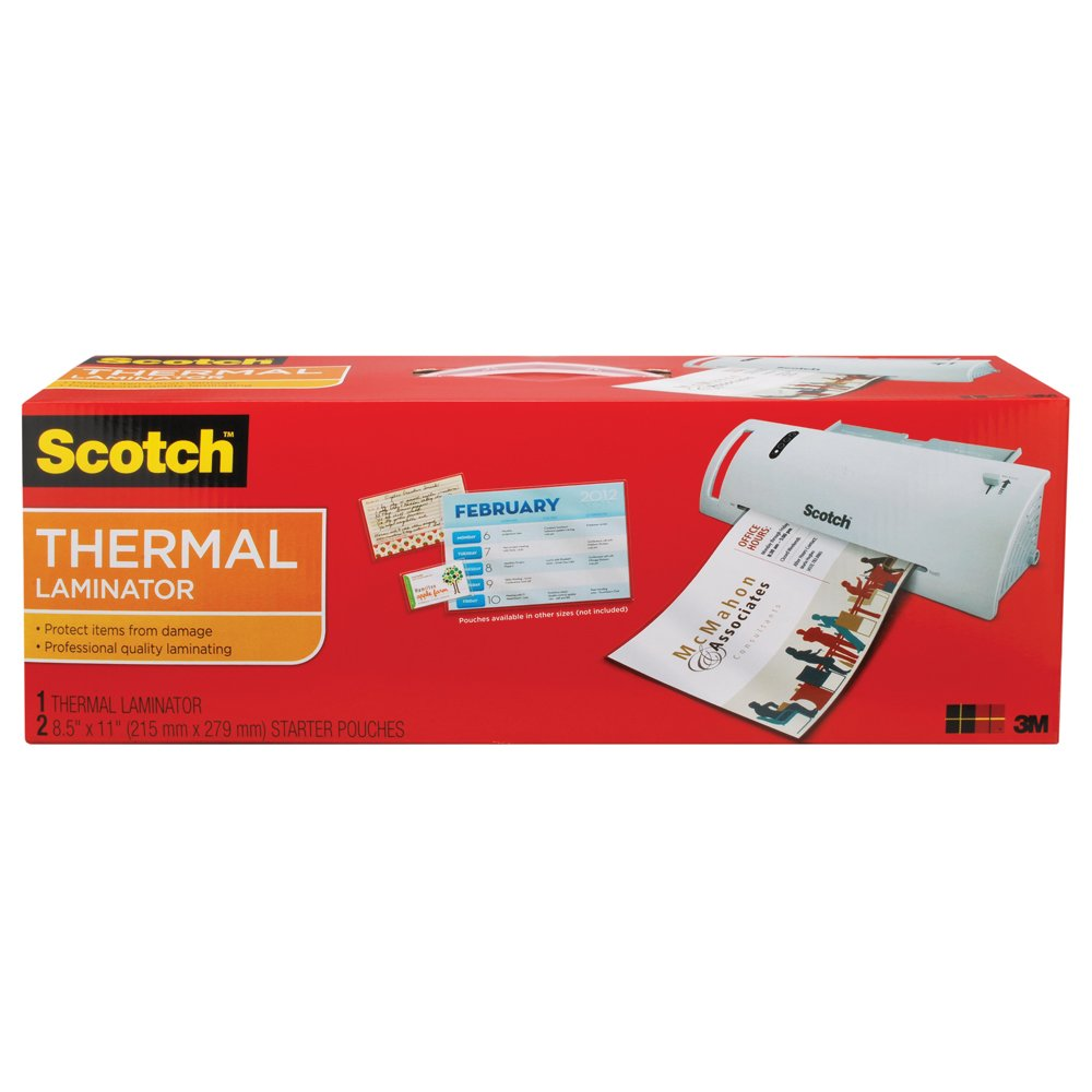 Scotch Thermal Laminator 14.75 x 4.75 x 3.75 Inches (TL902A) by Scotch Brand