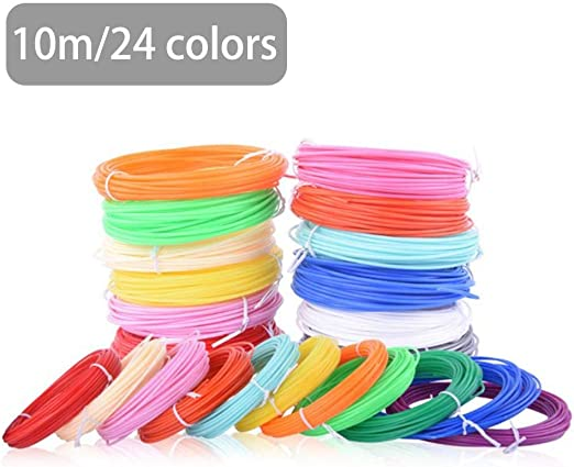 tidystore - Bolígrafo 3D de filamento, Recargable, PLA 24 Colores ...