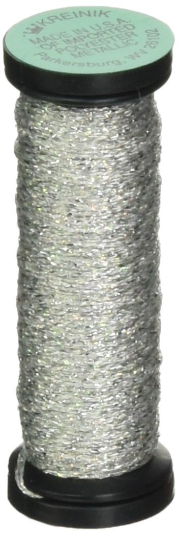 Kreinik Very Fine Metallic Braid #4 12yd-Pink VF-007