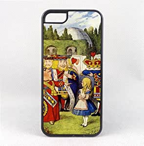 Case Fun Apple iPhone 5C Vogue Case - Alice in Wonderland Queen of Hearts