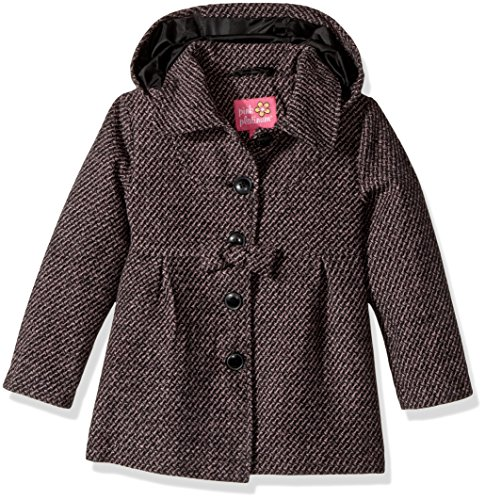 Pink Platinum Toddler Girls' Textured Wool Coat, Pink, ()
