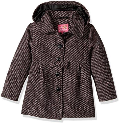 Pink Platinum Toddler Girls' Textured Wool Coat, Pink, (Textured Wool Coat)