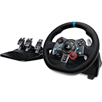 Logitech Dual-motor Feedback Driving Force G29 Gaming Racing Wheel with Responsive Pedals for PlayStation 4 and…