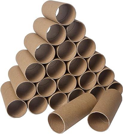 Paquete de 30 rollos de papel para manualidades, tubos de cartón ...