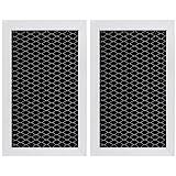 GE JX81J, WB02X11124, WB06X10823, Microwave Recirculating Charcoal Filter (2-Pack)