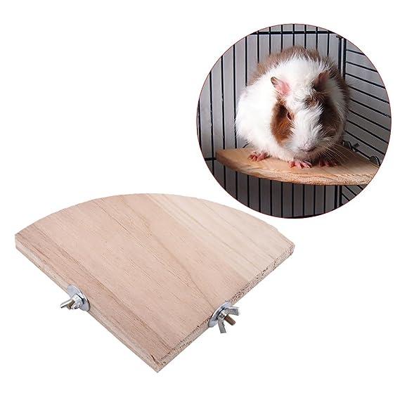 GLOGLOW Corner Bird Cage Perch Plataforma de pie, Ventilador de ...