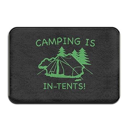 Amazon.com: Camping está en tiendas de campaña alfombra ...
