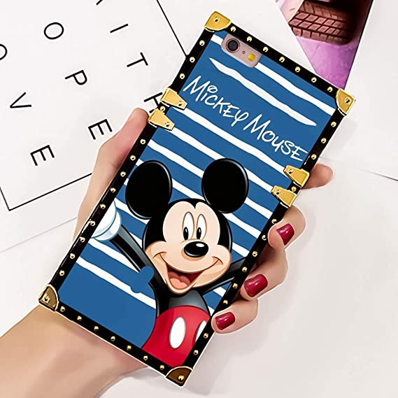 iphone 6 plus Disney Mickey Mouse Best Friend Fundas para