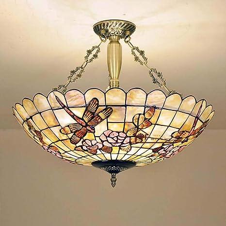 Lámpara colgante de techo invertido estilo libélula de ...