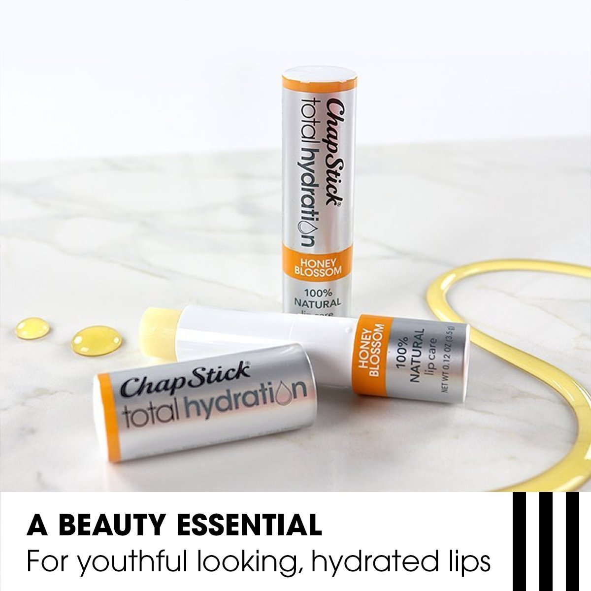 Total Hydration 100% Natural Lip Balm by chapstick #14
