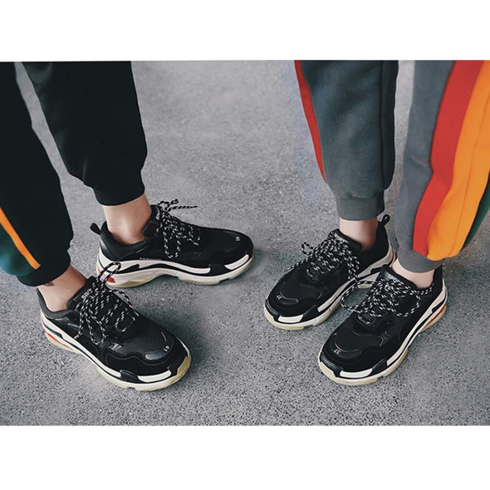 HhGold Paare Vatis Beschuht Frühlings-Sommer-Sport-Schuhe Retro Turnschuhe Turnschuhe Turnschuhe (Farbe   Schwarz, Größe   42EU) B07K7GDGSJ  20ff89