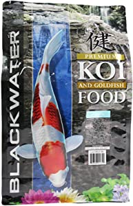 Blackwater Premium Koi and Goldfish Foods Cool Season Diet 5 lb Medium Pellet
