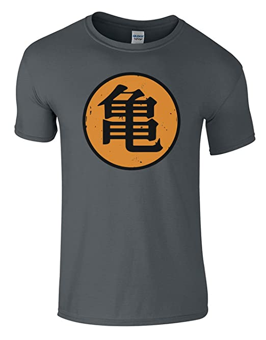 Sharp threads Roshi´s Gym T-Shirt Son Goku Grau Größe Men's T-