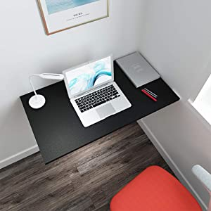 """Need Wall Mounted Computer Desk - Heavy Duty Folding Work Table Length 36"""" Width 20""""/Small Space Hanging Desk Perfect Addition to Home/Office/Kitchen & Dining Room AC15CB(9050)"""