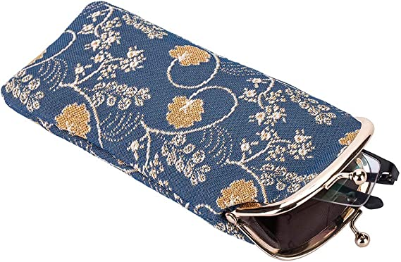 New Signare Tapestry Women Glasses Pouch//Sunglasses Bag Spectacle Pouch