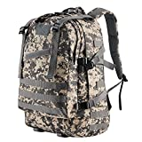 Tactical Backpack - Gonex Military Tactical Backpack Waterproof Classical Assault Pack Backpack/Rucksack, Molle Bug Out Bag for Outdoor Hiking Camping Trekking Hunting 45L ( ACU Camouflage )