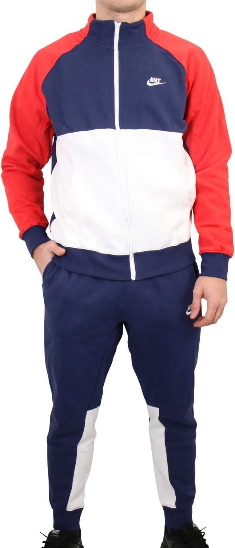 Nike Sportswear Chándal, Hombre, Midnight Navy/University Red ...