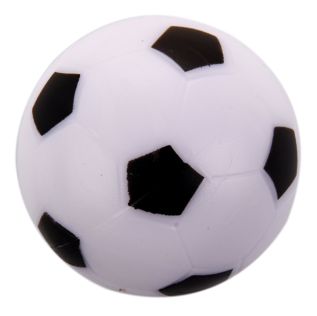 Globalflashdeal Small Soccer Foosball Table Ball Plastic Hard Homo logue Children Game Toy Black White