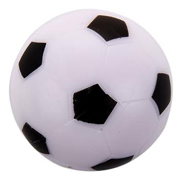 WOVELOT Futbolin Pequeno de Futbol Bola de plastico Duro de Mesa ...