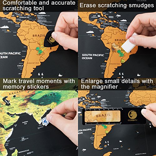 Scratch off map of the world with us states and country flags scratch off map of the world gumiabroncs Image collections