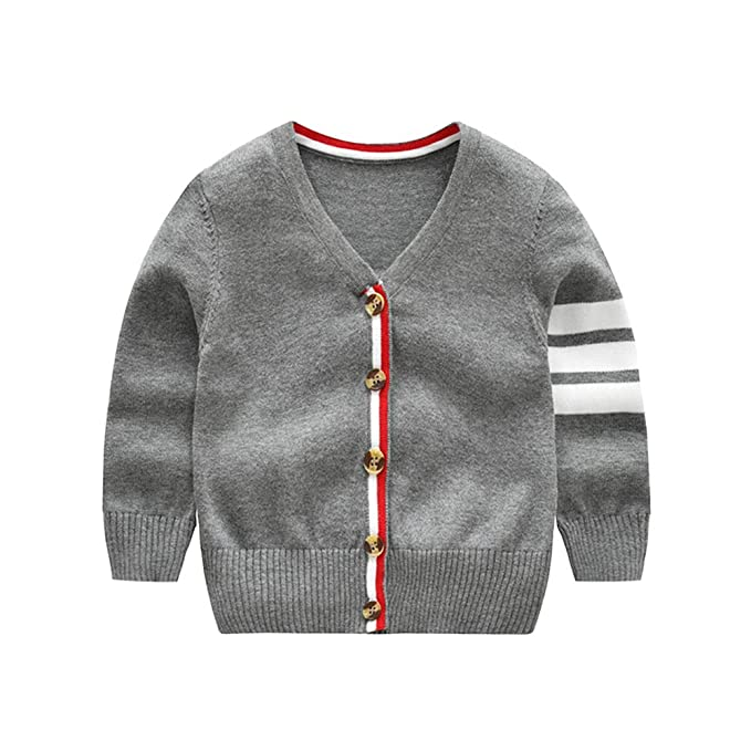 574795c64 Amazon.com  BOBABY Baby Cardigan Sweater Girl Boy Cotton Knitted ...