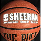 "The Rock Official Women's 28.5"" Composite Leather Basketball - Used by Top Colleges - Superior Air Retention and Durability - Patented Pebble Design - w/ Certificate of Authenticity"