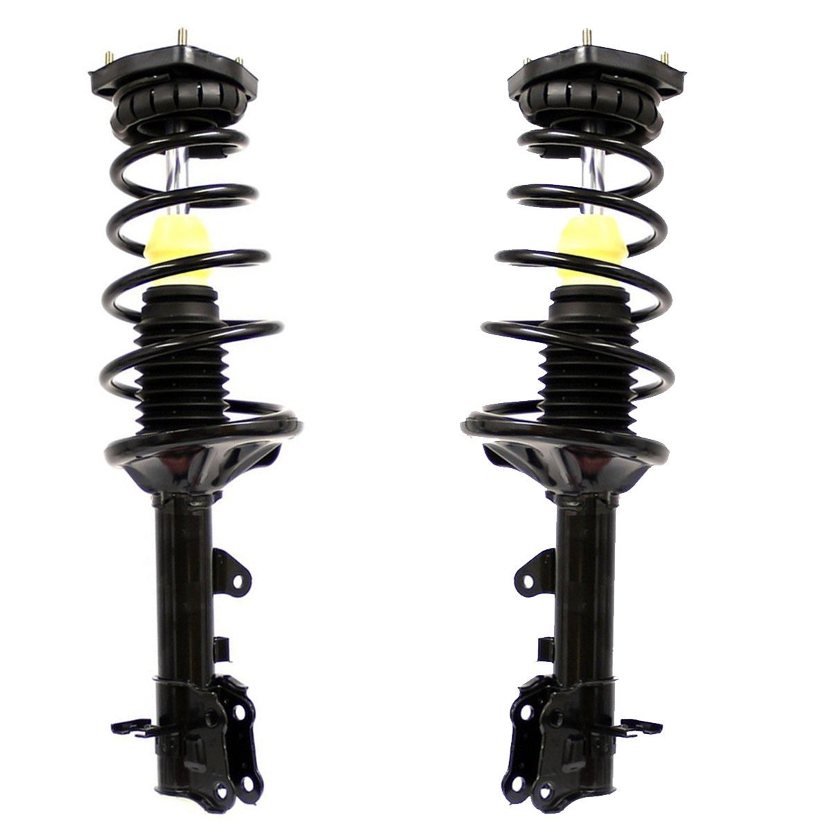 Detroit Axle - Brand New Rear Driver and Passenger Side Quick-Strut Complete Assemblies for [2001 2002 2003 2004 2005 2006 Hyundai Elantra]