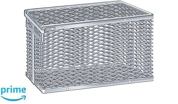 Scientific Labwares Aluminum Tilt Cover Test Tube Storage Basket 5 X 4 X 6 5 X 4 X 6 792-191
