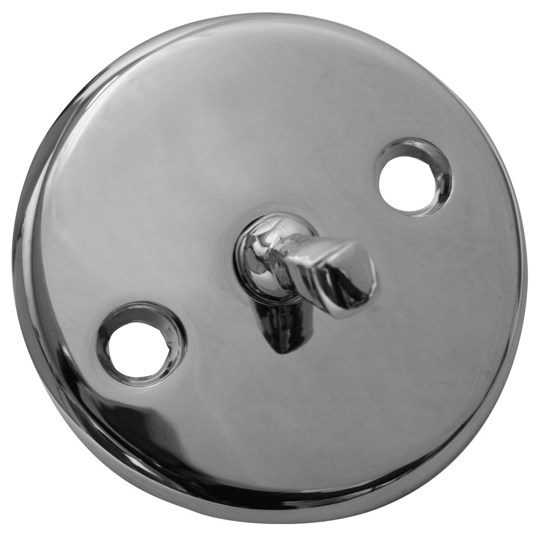 Everflow Supplies 5113FP Chrome Plated Trip Lever Face Plate with Brass Screws