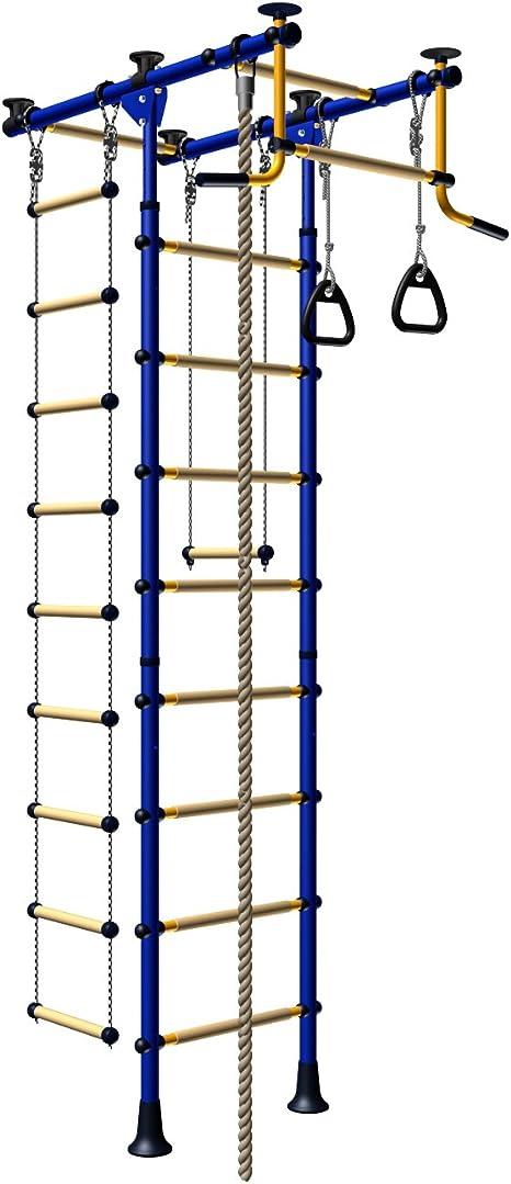 Escalera de Juegos para Niños, Conjunto Desde el Suelo Hasta el Techo. Conjunto de Interior para
