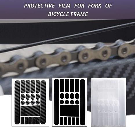 Gugutogo Mountain Bike Care Chain Stickers Película Protectora Plegable para Bicicleta de Carretera Anti-Scratch Scratch Rhinoceros Leather Stickers: Amazon.es: Deportes y aire libre