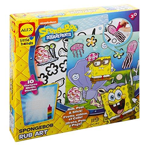 ALEX Toys SpongeBob Rub Art Kit (Kit Spongebob Scene)