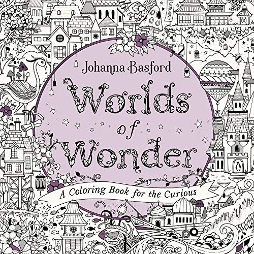 Amazon.com: Worlds Of Wonder: A Coloring Book For The Curious  (9780143136064): Basford, Johanna: Books