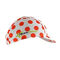 HYSENM Tour De France Polyester Breathable Sweat Absorbent Cycling Sports Sun Hat Helmet Liner Champion Cap