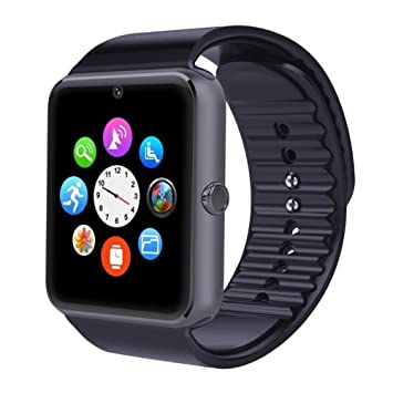 Relojes Inteligentes ,Bluetooth Smart Watch Pulsera Sports Fitness Tracker Tarjeta de SIM TF con Pedometer