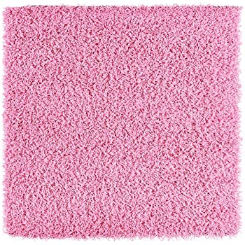 Amazon Com Ikea Hampen Rug Bright Cerise Pink High Pile