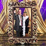 Gold Photo Frame Prop Party Decoration