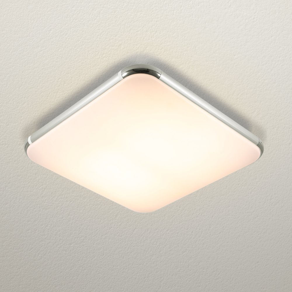 Amazon com natsen 36w led ceiling lights modern ceiling light fixture flush mount ceiling lighthigh transmittance lampshadelivi home improvement