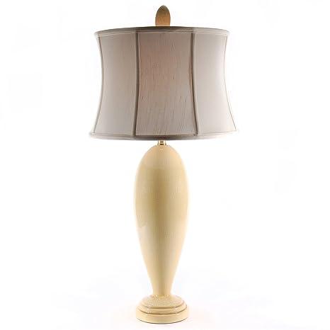 Bradburn Yellow Boca Grande Porcelain Table Lamp Amazon Com