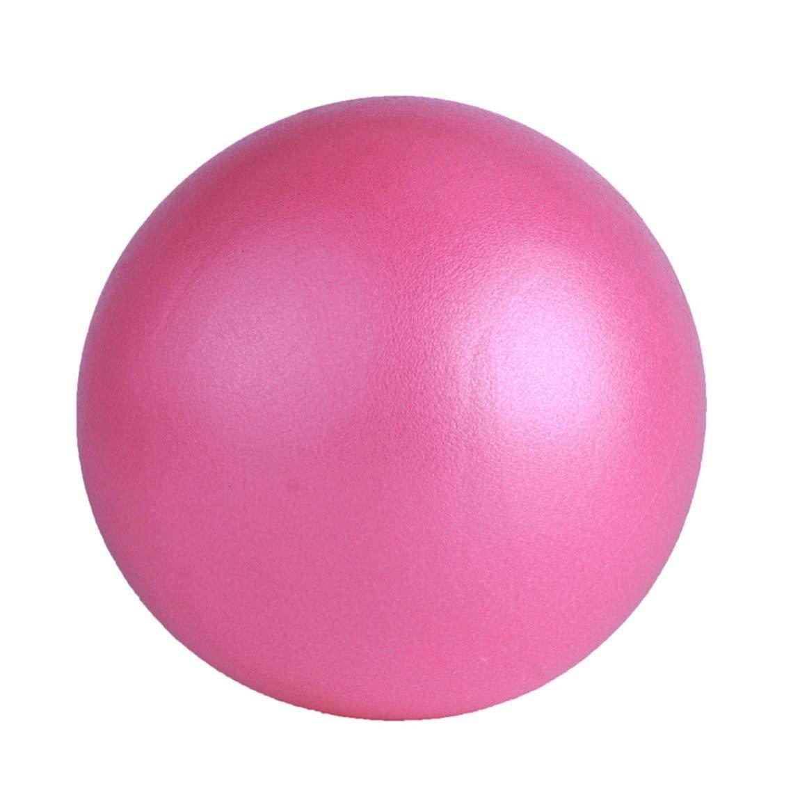 Color: Rosa Pelota de Yoga Bola de Prueba de Fitball para el Ejercicio en casa Deporte Bola de Ejercicio Profesional Antideslizante 73JohnPol Pelota de Yoga de tama/ño peque/ño Equilibrio