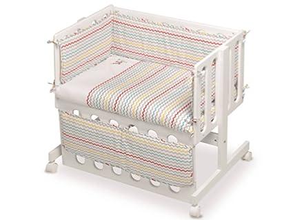 Pirulos 20713510 - Vestidura para minicuna, color lino