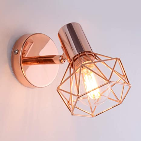Adjustable lamp wall sconces lighting rose gold ac85 265v e14 base adjustable lamp wall sconces lighting rose gold ac85 265v e14 base include 5w bulb aloadofball Images
