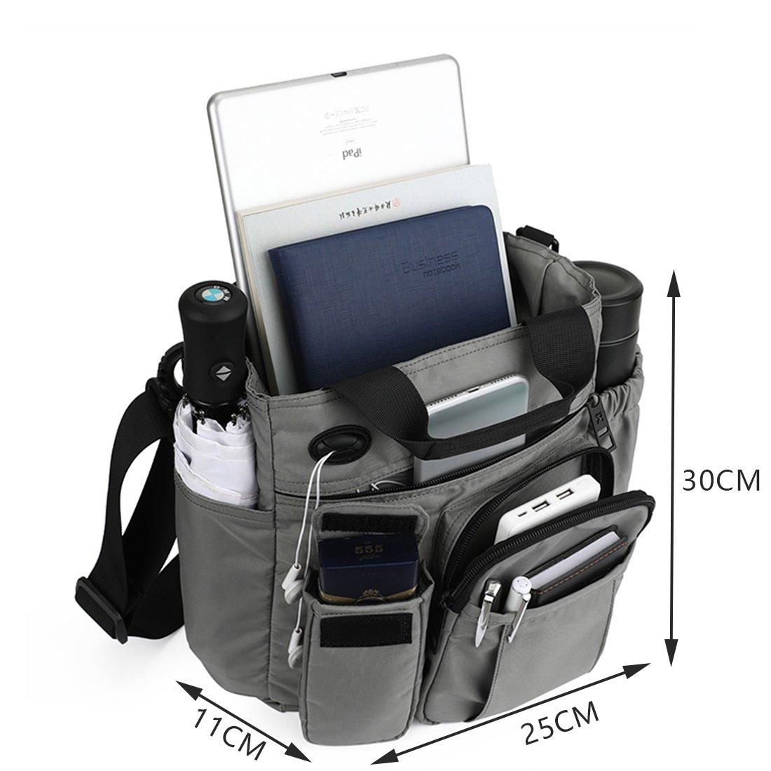 APHYC Borsa Da Uomo Messenger Bag Borsa A Tracolla Zaino Outdoor 30 * 25 * 11Cm Business//Valigetta Per Studenti//Impiegati 2 Scelte Di Colore H * L * W