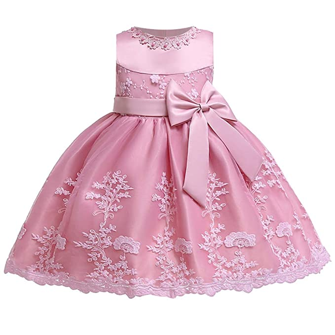 Amazon.com: LZH - Vestido de bautizo para bebé o niña, para ...