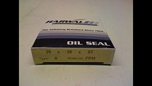 Harwal 25X35x07 Oil Seal 25Mm Id 35Mm Od 7Mm Width 25X35x07
