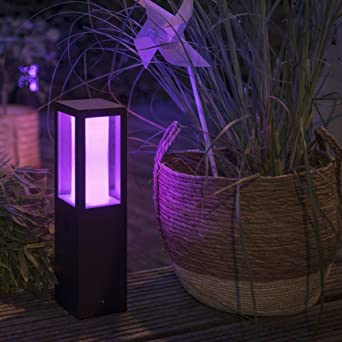 Philips Hue White & Color Ambiance Impress - Lámpara LED de jardín ...