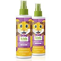 Babyganics Kids Detangler, Berry Berry, 2 pack