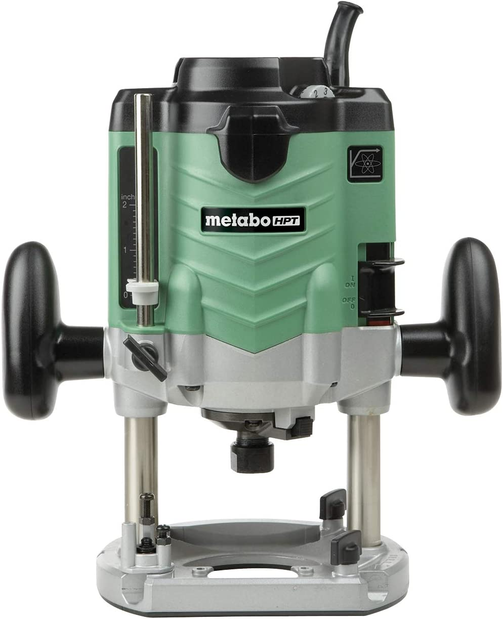 Metabo HPT M12VE 3-1/4 Peak Hp Variable Speed Plunge Router
