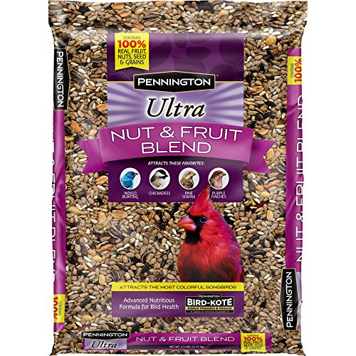 Pennington Ultra Fruit & Nut Blend Wild Bird Seed and Feed, 2.5 lbs